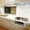 割れて危険なコンロガラストップを美しくお手入れ簡単なキッチンへ【市川市】K様邸 キッチンリフォーム(リシェルSI)