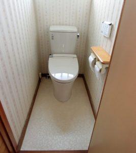 節水力・お手入れしやすさが昔と比べ格段にパワーアップ!【市川市】M様邸 トイレ交換